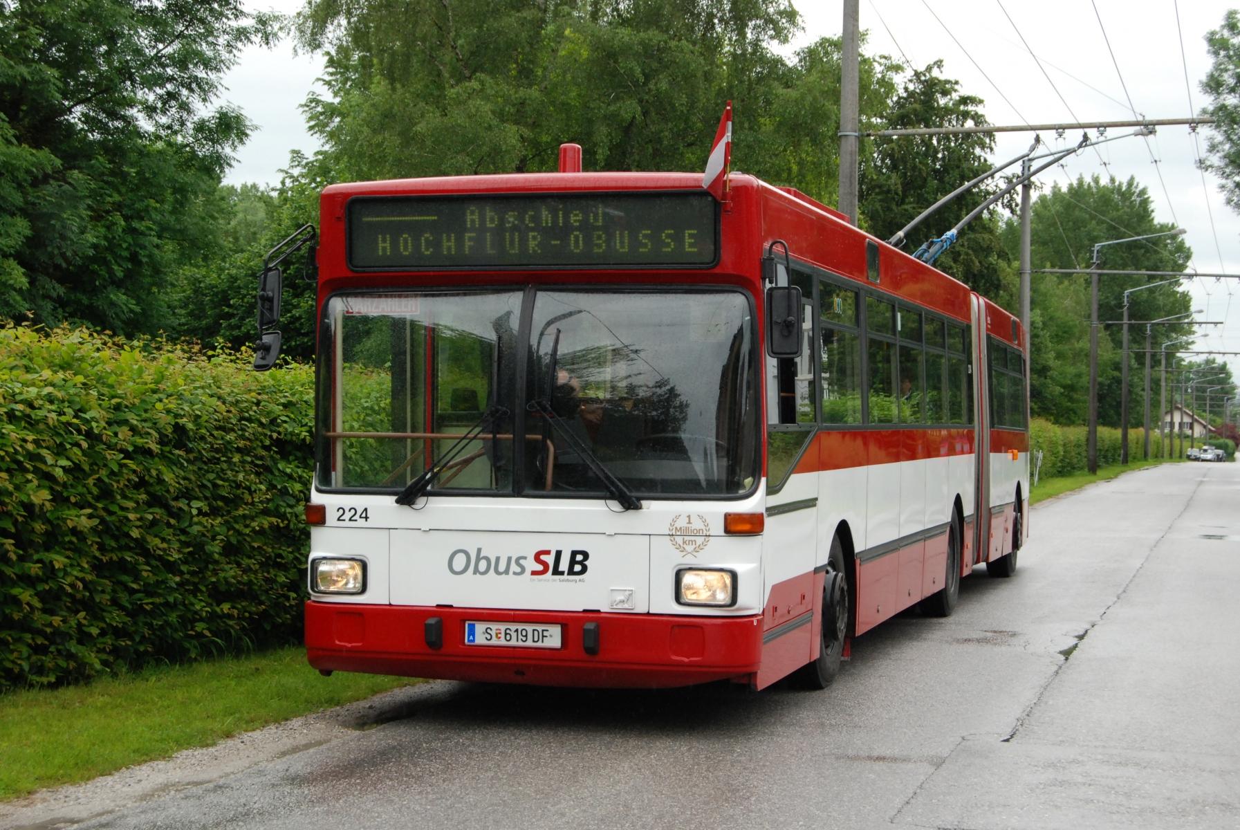 Obus 224 am Salzachsee. Foto: Wolfgang Proisl